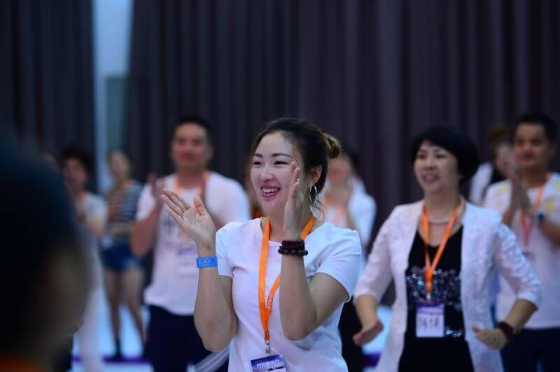 Osho Diamond Breath, entrenamiento avanzado (China)